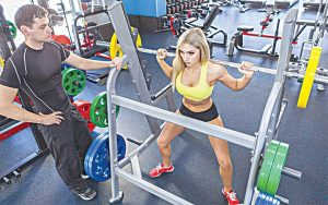 Gyms Have Personal Trainers That Help with Fitness